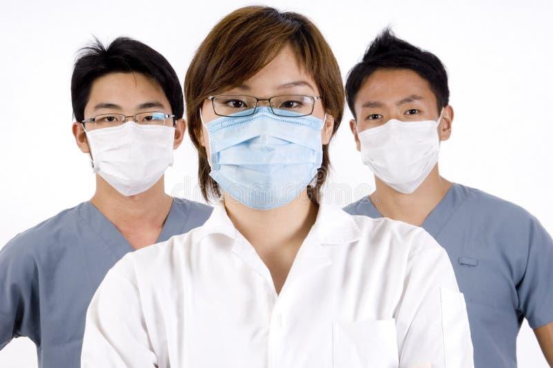 Équipe médicale images libres de droits