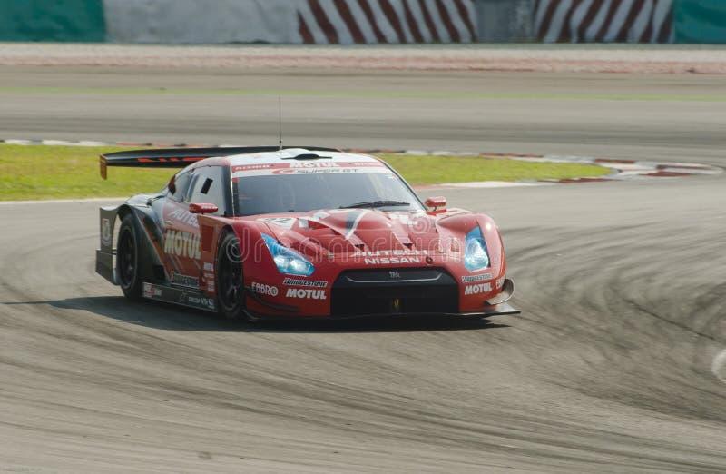 Équipe Motul Autech Nissan GTR photo libre de droits