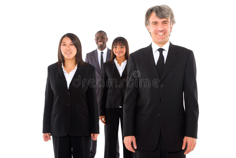 Équipe multi-ethnique photo stock