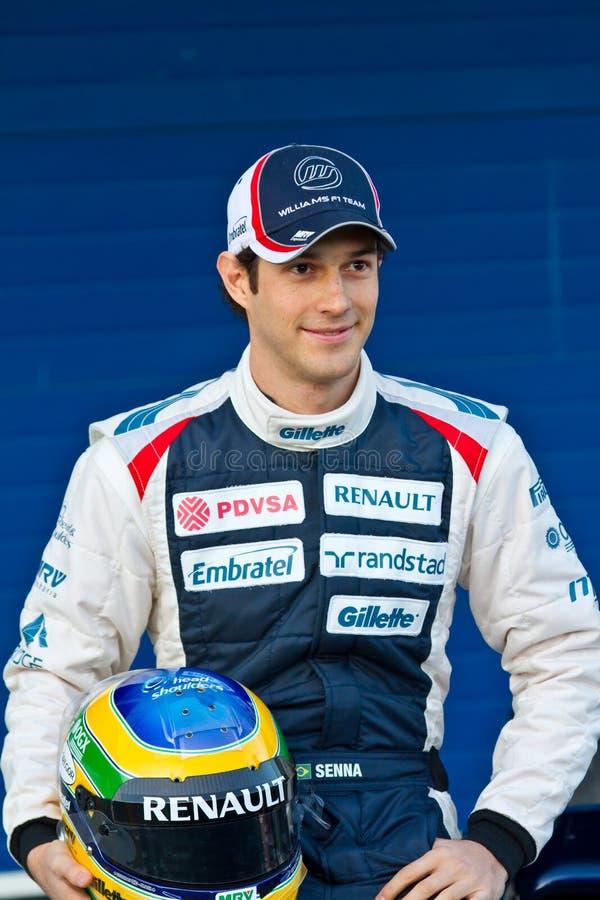 Équipe Willias F1, séné 2012 de Bruno photos stock