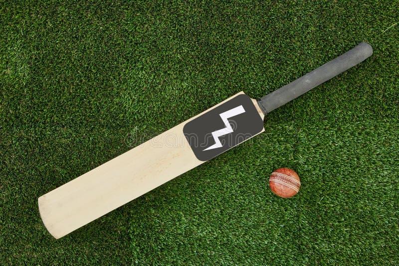 Équipement de cricket image stock