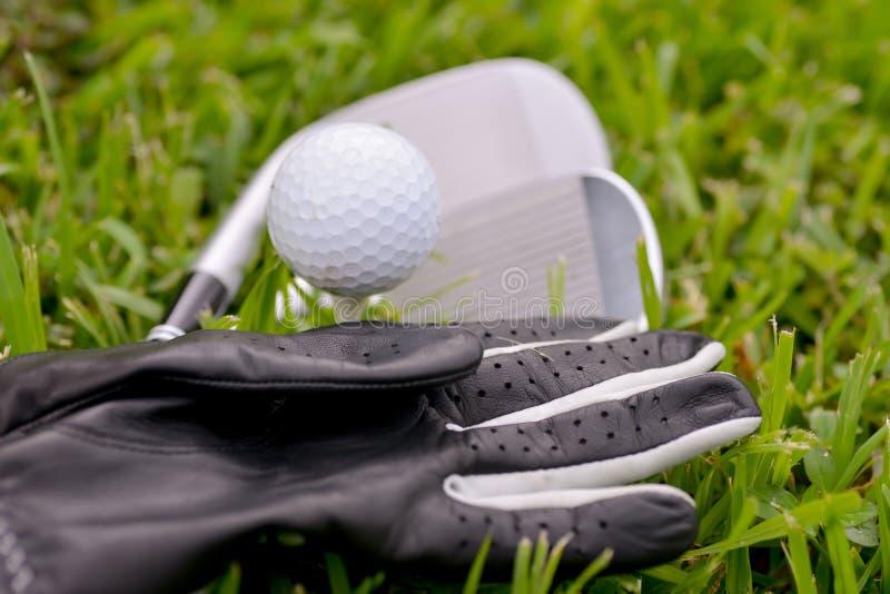 Équipement de golf photo stock