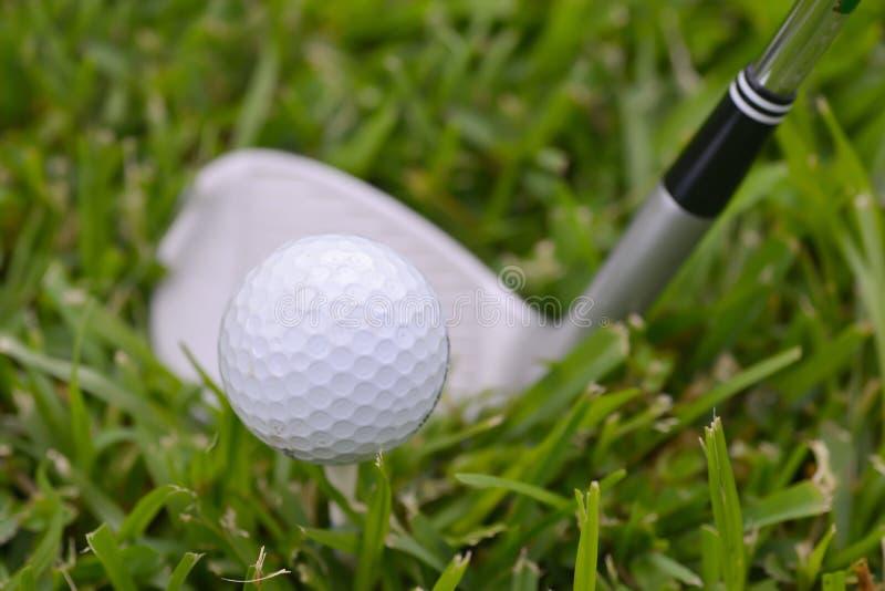Équipement de golf photographie stock libre de droits
