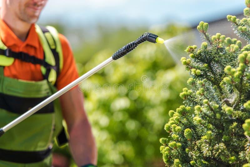 Équipement de jardin d'insecticide photos libres de droits