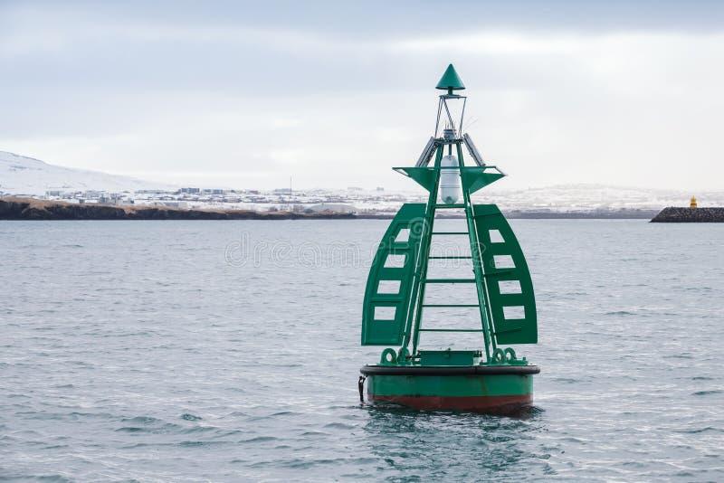 Équipement de navigation de Reykjavik, Islande image stock