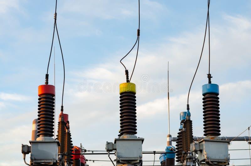 Équipement de puissance et d'industrie énergétique photo stock