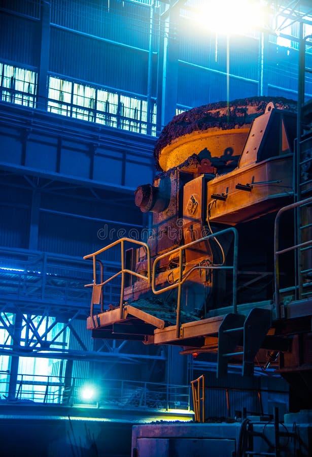 Équipement de sidérurgie images libres de droits
