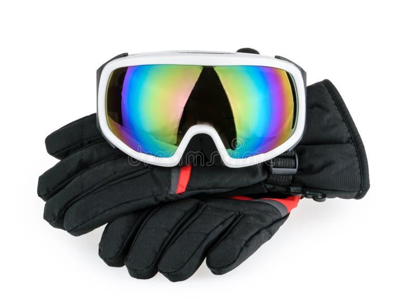 Équipement de ski d'isolement photos libres de droits