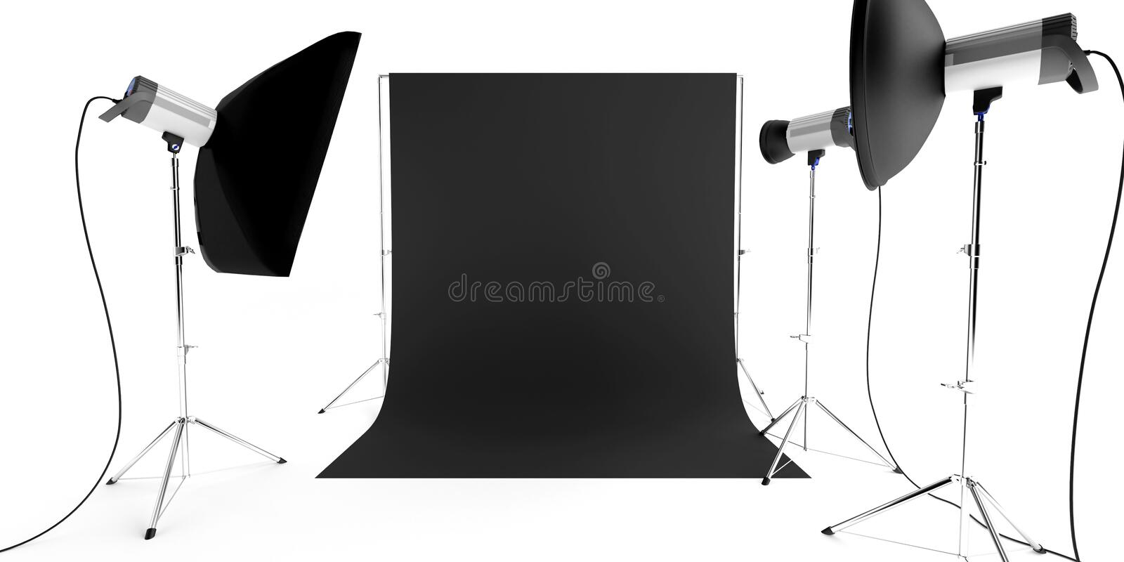 Équipement de studio de photo photos stock