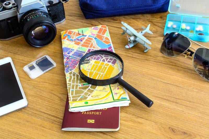 Équipement de voyageur image libre de droits