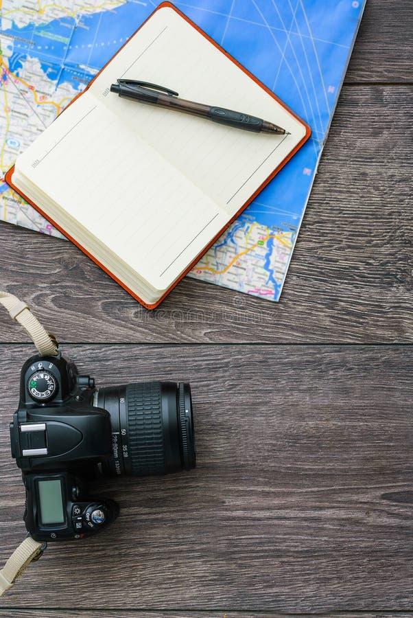 Équipement de voyageur photos libres de droits