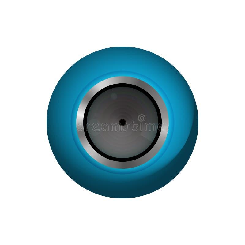 Équipement de webcam illustration libre de droits