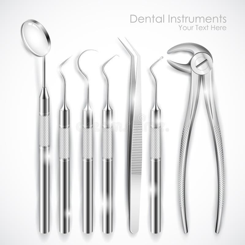 Équipement dentaire illustration de vecteur