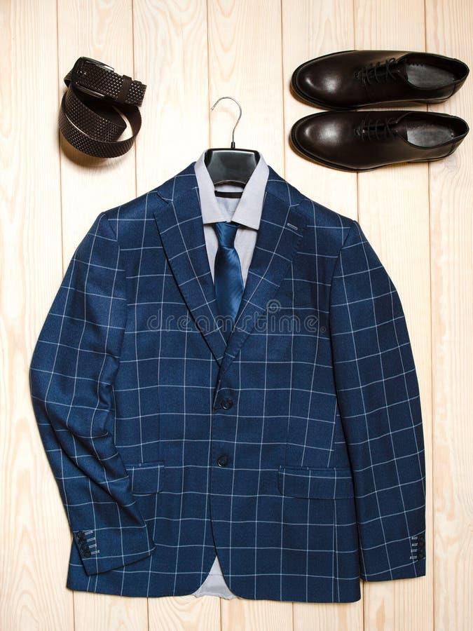 Équipement occasionnel d'affaires de vêtements d'homme image libre de droits