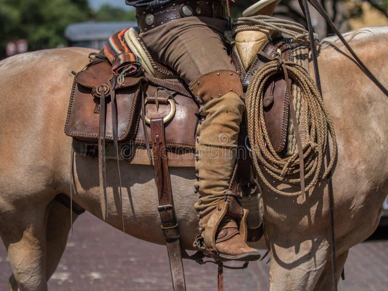 Équipement traditionnel de Vaquero photo libre de droits
