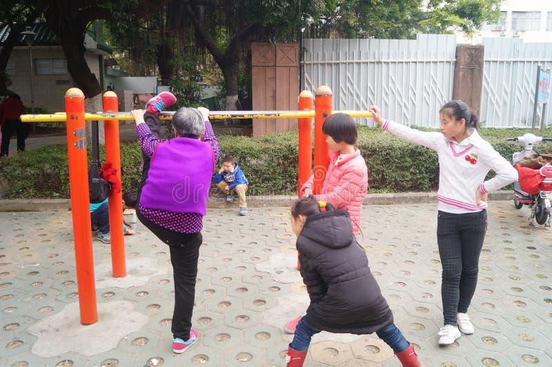 Équipements de sports, les gens dans l'activité photo libre de droits