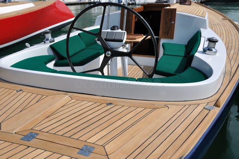 Équipements intérieurs de bateau photo stock