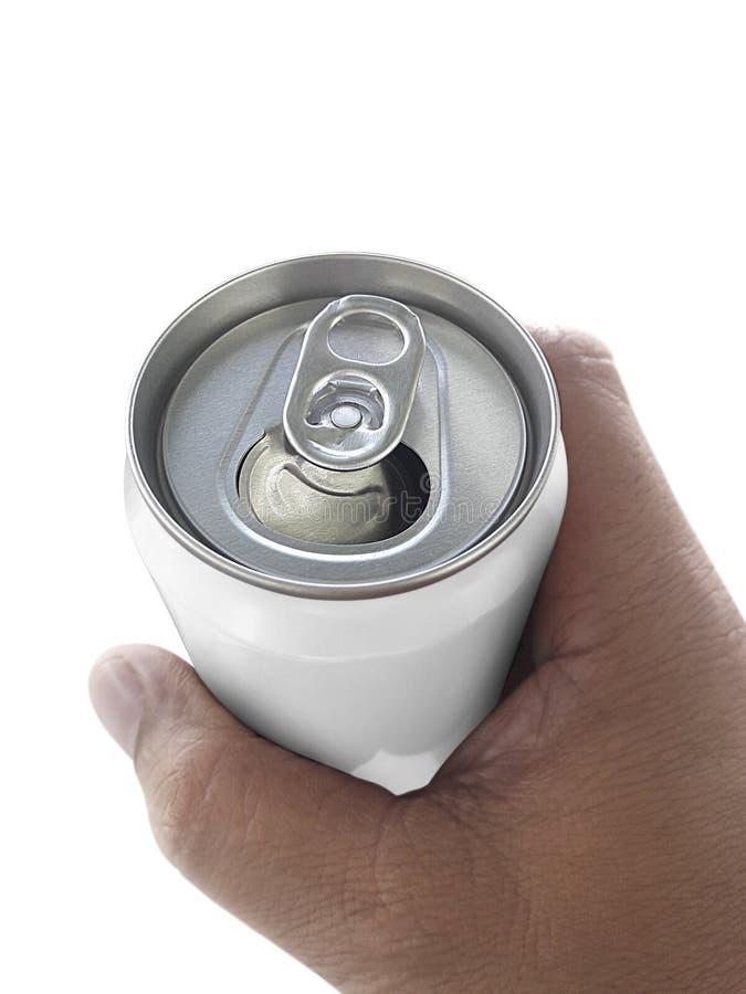 Équipez juger la boîte en aluminium d'isolement sur le fond blanc photo libre de droits