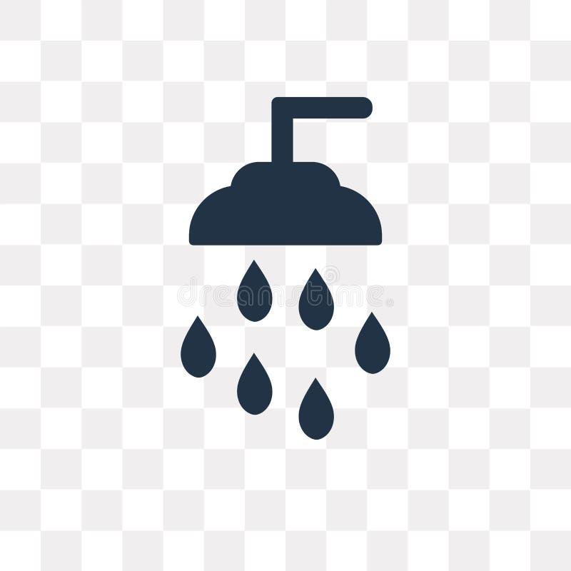 Équipez l'icône d'arroseuses de vecteur d'isolement sur le fond transparent, Sprink illustration de vecteur