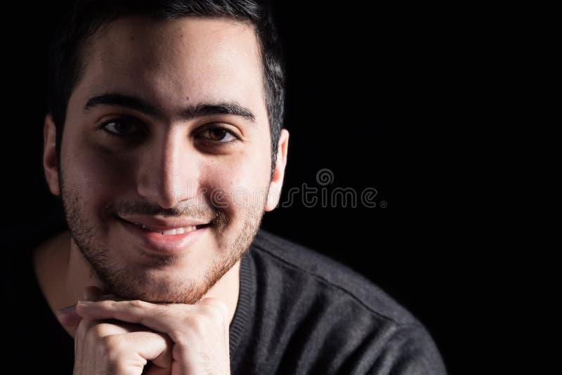 Équipez le sourire photos stock