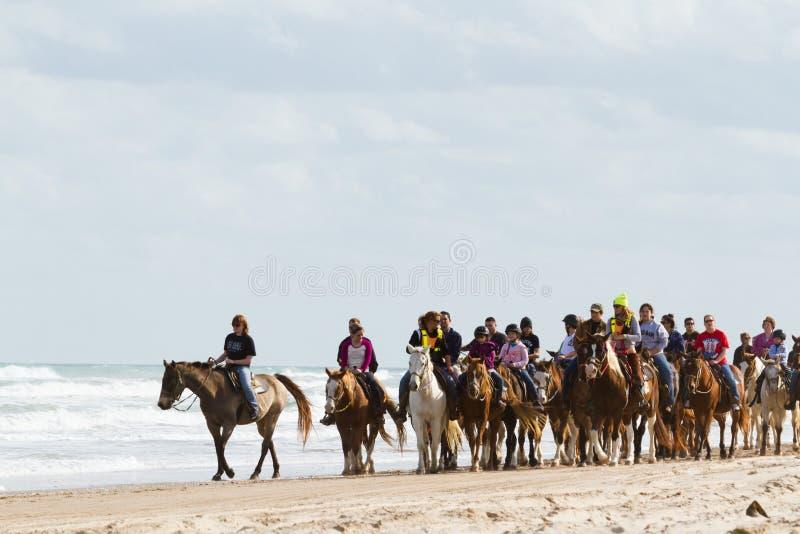 Équitation de Horeseback photographie stock libre de droits