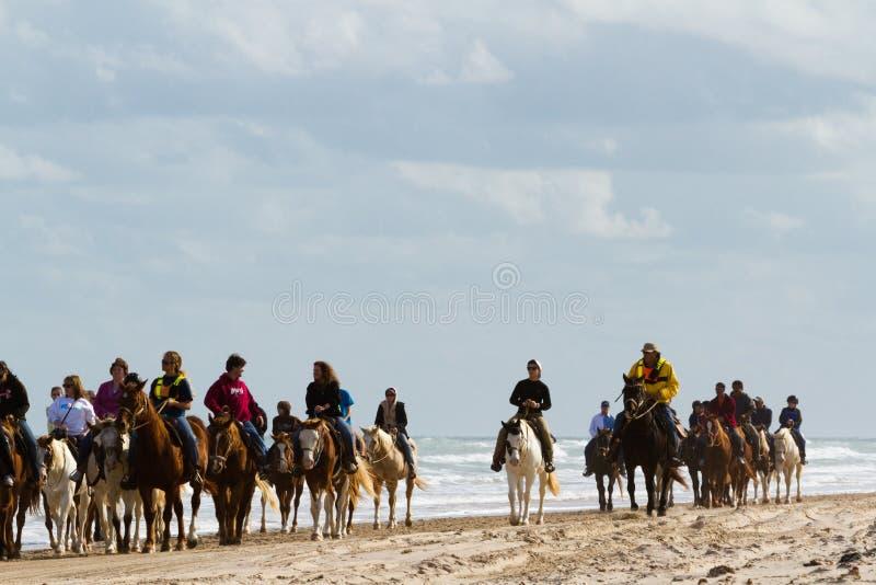 Équitation de Horeseback photo stock