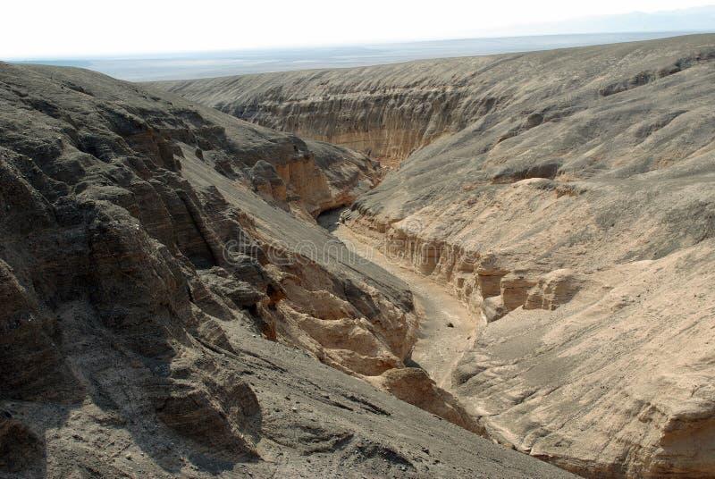 Érosion dans le désert d'Atacama photos libres de droits