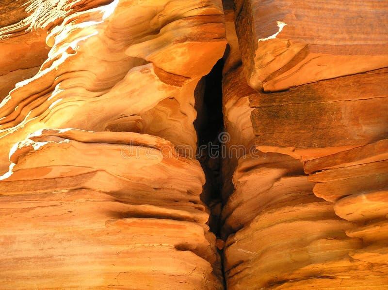 Érosion de roche photos stock