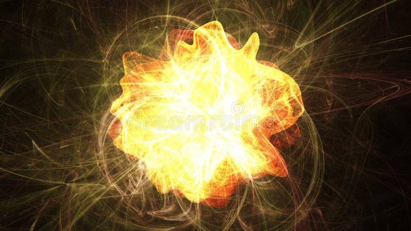 Éruption chromosphérique illustration libre de droits
