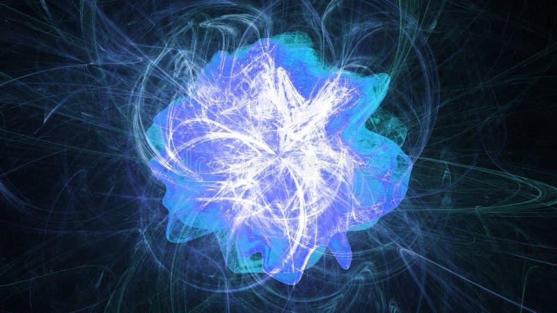 Éruption chromosphérique illustration de vecteur