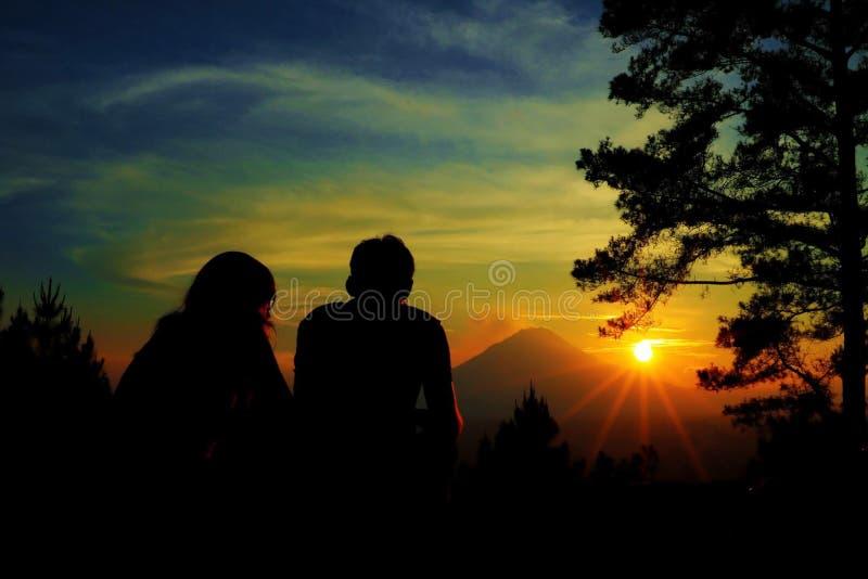 Éruption de bâti de Sinabung photo libre de droits
