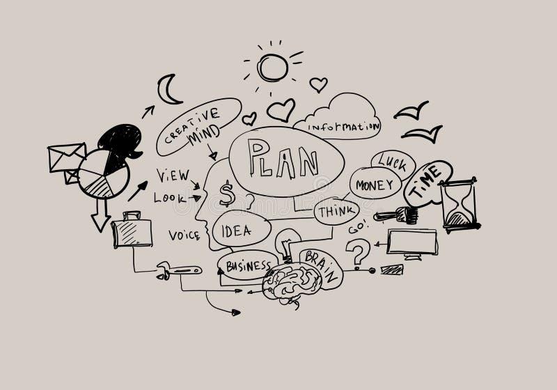 Ése es mi plan libre illustration