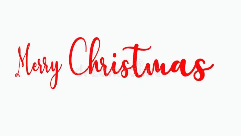 ÉSTA ES LA IMAGEN DE LA CITA de la Feliz Navidad ilustración del vector