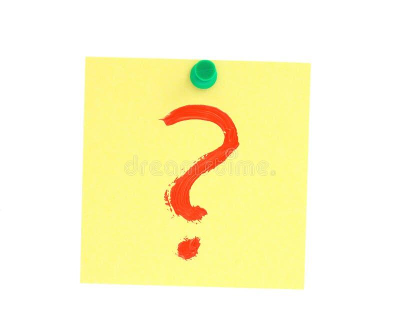 Ésta es la pregunta #2 fotos de archivo