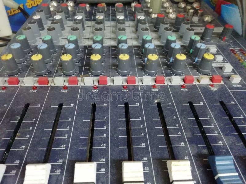Éste es control sano en la sala de control fotografía de archivo