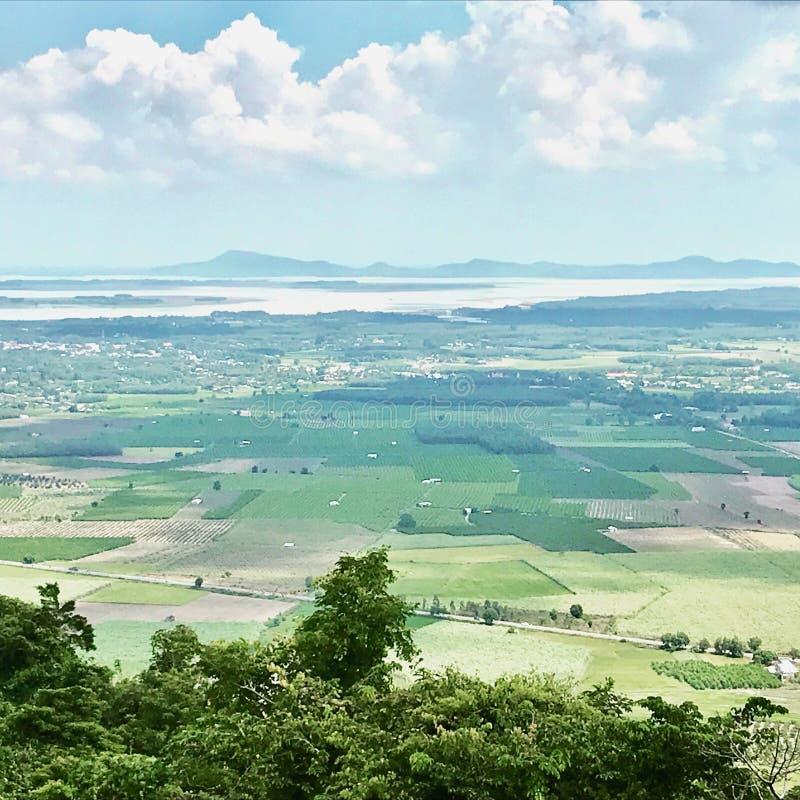 Éste es las vistas hermosas en Tay Ninh Vietnam imágenes de archivo libres de regalías