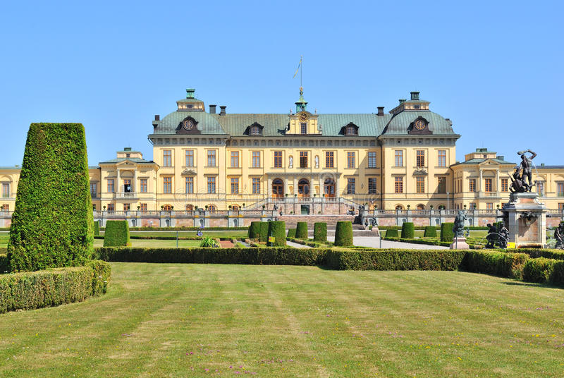 Éstocolmo.  Drottningholm imagem de stock