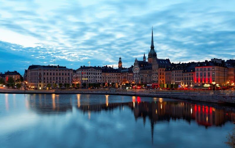 Éstocolmo, Suécia -29 maio de 2016 Verão cénico imagem de stock