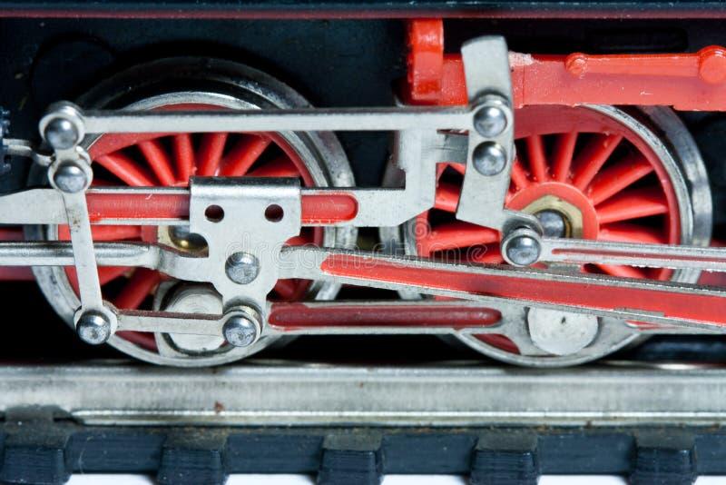 Trenes del modelo imagenes de archivo