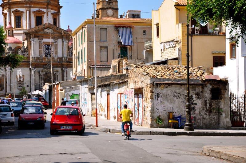 Été à Palerme image libre de droits