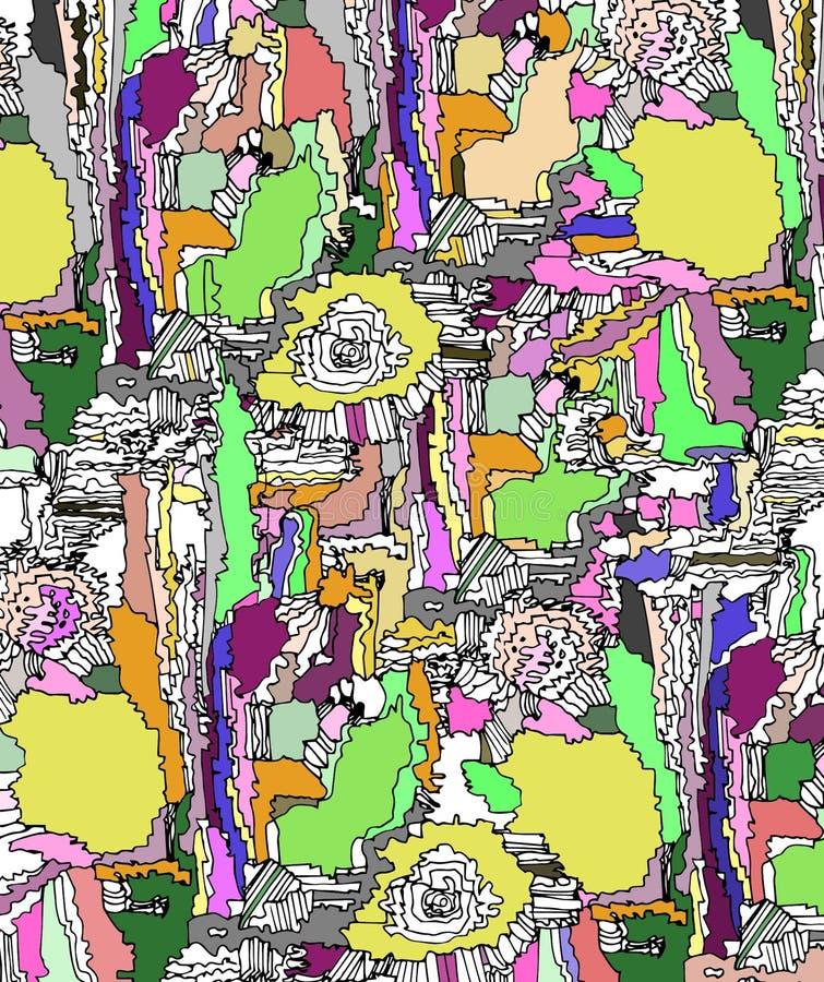 Été abstrait d'illustration images libres de droits