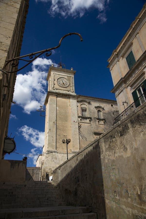 Été dans Noto, Sicile, Italie images stock