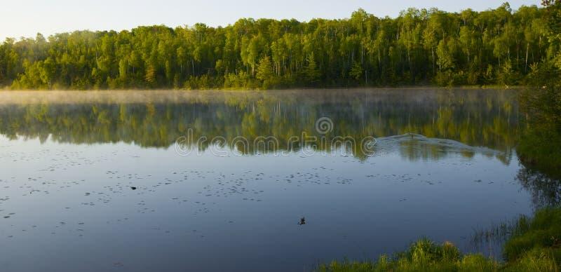 été de matin du Minnesota photos libres de droits