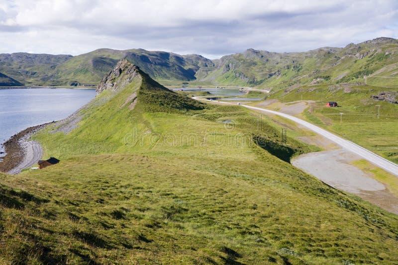 été de Norvégien d'horizontal photo libre de droits
