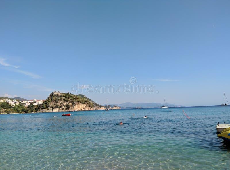 Été de Parga Grèce photos libres de droits
