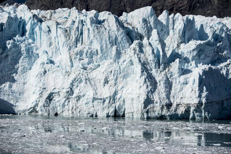 Été en parc national de baie de glacier images libres de droits