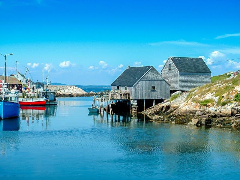 Été lumineux en Nova Scotia, le Canada photos libres de droits