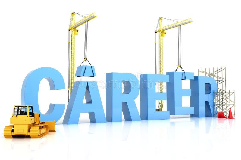 Établir une carrière illustration libre de droits