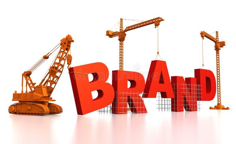 Établir une marque illustration libre de droits