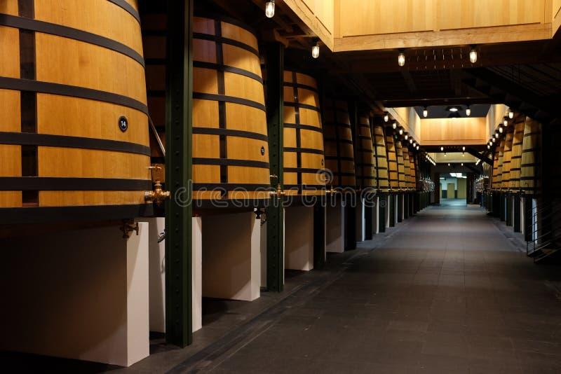 Établissement vinicole célèbre français photo libre de droits